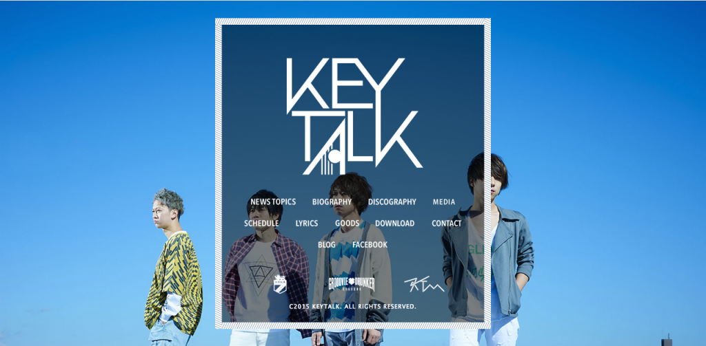 KEYTALK official web